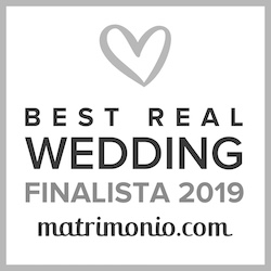 Finalista Best Real Wedding 2019 Matrimonio.com