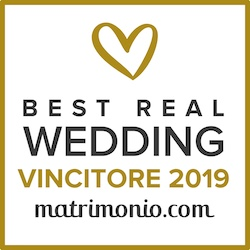Vincitore Best Real Wedding 2019 Matrimonio.com