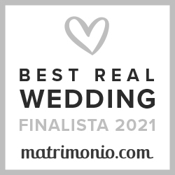 Finalista Best Real Wedding 2021 Matrimonio.com