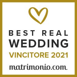 Vincitore Best Real Wedding 2021Matrimonio.com