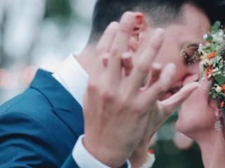 Marco e Claudia wedding trailer in Cascina Boscaccio