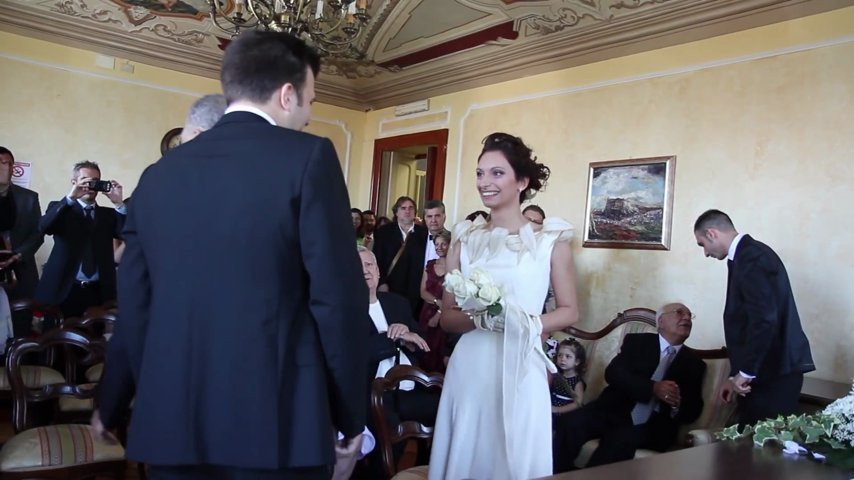 Matrimonio In Comune : Matrimonio cerimonia in comune vbcom tv video