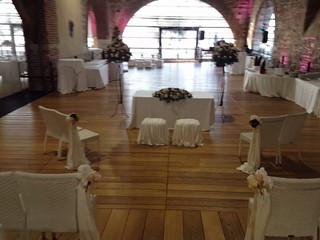 Magica cerimonia civile direttamente in Dogana Veneta
