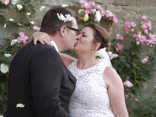 Christine + Kent. Wedding Trailer in Tuscany