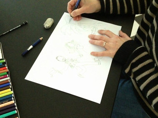 Come realizziamo il disegno per gli sposi