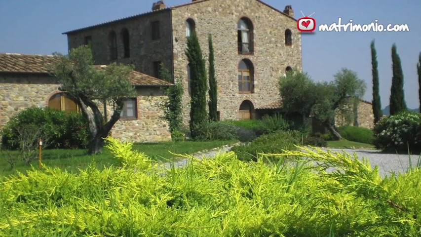 Location Matrimonio Toscana Economici : L antico convento video matrimonio
