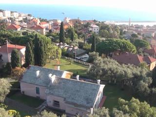 Volando su Villa Roseto