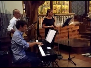 Alessandra cerimonia in chiesa