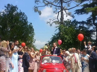 Fiat 500 Red Passion