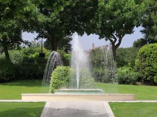 I giochi d'acqua al Giardino Liberty