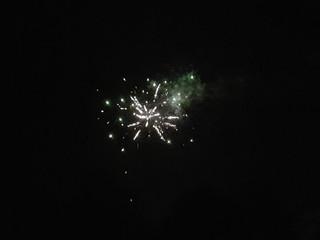 Fuochi d'artificio a villa Attems