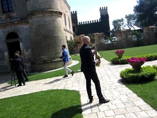 Arrivo al castello