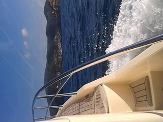 Rialma II in navigazione