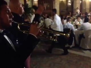 Diretta con ospite trombettista