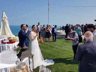 Matrimonio sulla costa dei trabocchi Franco e Alessia