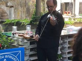 Intrattenimento con violino e piano