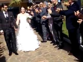Matrimonio ingresso sposi aperitivo