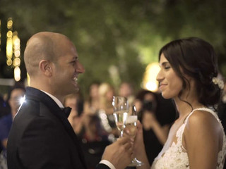 Un incantevole matrimonio serale