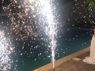 Torta in piscina