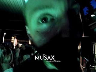 Presentazione dj e vocalist musax