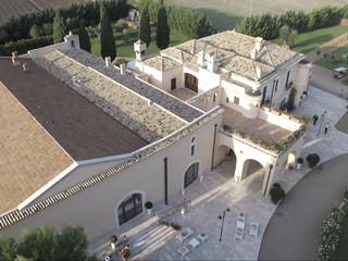 Masseria Pietrafitta vista con il drone