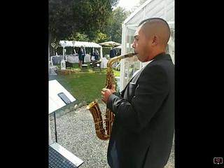 Live sax agli aperitivi