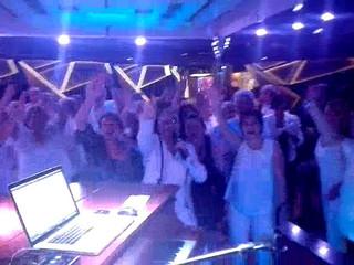 Disco live su Costa Diadema