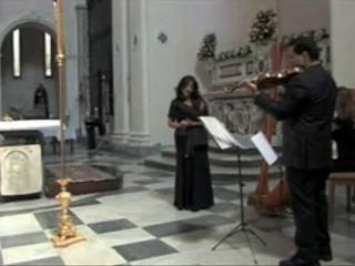 Chiesa - Arpa soprano e violino - Ave Maria Schubert