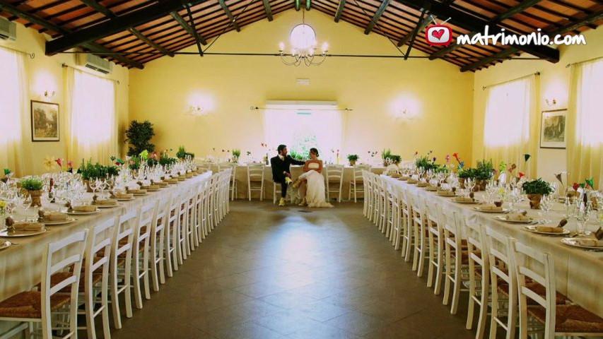 Matrimonio Campagna Romana : Tenuta dell olmo video matrimonio