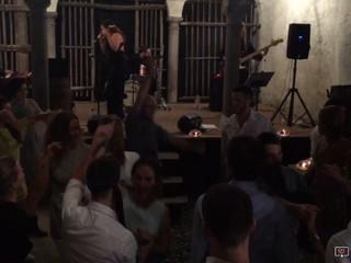 Wedding party con La Band