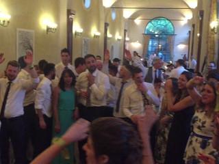 Cristian canta Vorrei di Cremonini come ballo sposi