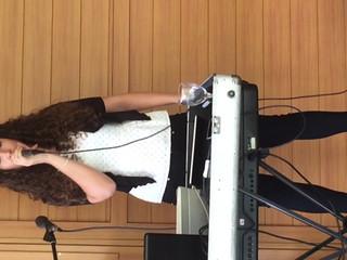 Prove audio con la canzone In cerca di te di Simona Molinari