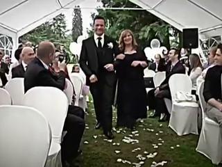 Canzone scritta per  la sposa !Canta Cristian