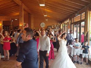 Ritmo Vuelta -Ballo di gruppo con gli sposi
