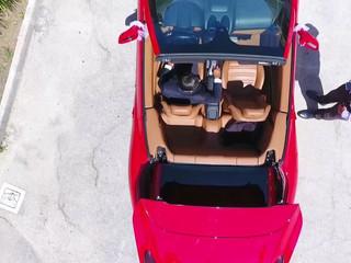 Our Ferrari California From The Sky