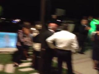 Divertimento di sera al Plaza durante il matrimonio