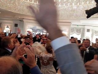 Ingresso sposi-Matrimonio Internazionale al Plaza Italia-Albania-Svizzera-America-Animazione e inrattenimento