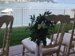 Allestimento Floreale Matrimonio - Como - Lido di Lenno