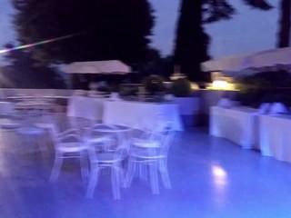 Matrimonio in villa.
