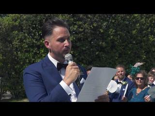 Tuscany wedding video   Villa Cora, Firenze // Kristi e Scott