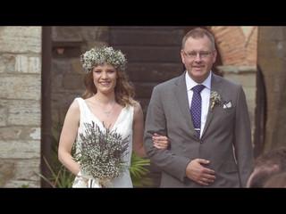 Tuscany wedding video   Anders e Agnethe
