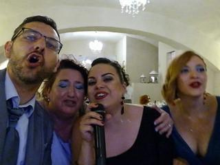 Karaoke selfie matrimonio 3 6 17