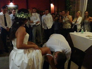 Giarrettiera matrimonio
