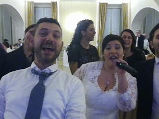 Selfie karaoke matrimonio 16 12 17