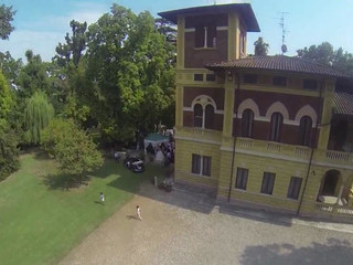 Video matrimonio aereo con drone apple  full hd