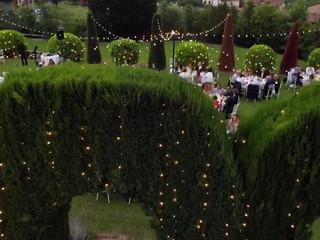 Il giardino di Villa Baiana