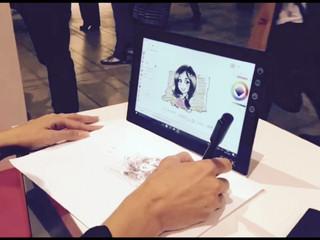 Ritratti digitali con Lenovo