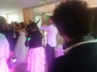 Il ballo lento e poi iniziano le danze!