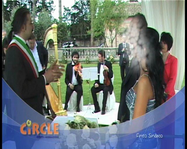 Matrimonio Simbolico Milano : Finto sindaco circle eventi animazione video
