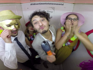 Toni & Alisea wedding party